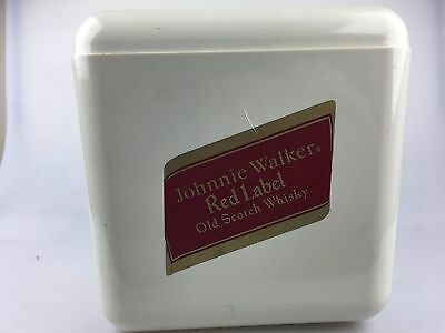 Johnnie Walker Red Label Ice Bucket - Made In England - Great Item - Man Cave