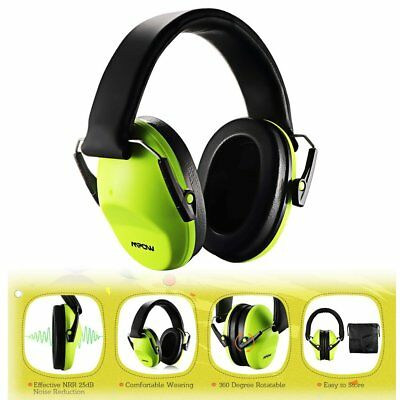 MPOW 25dB Kids Infant Noise Ear Muffs/Defenders Hearing Protection+ Carrying Bag
