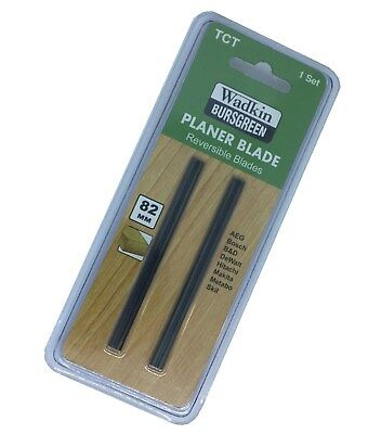 Planer Blades 82 mm Pair To fit Most Of All Electric Planer - TOP QUALITY TCT