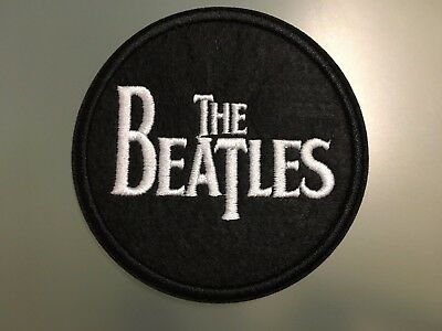 """THE BEATLES Patch - Embroidered Iron On Patch 3 """""""