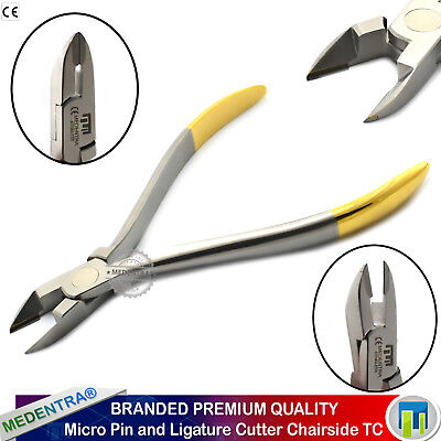 Orthodontic Micro Ligature Wire and Pins Cutter Chairside Tungsten Carbide Tip