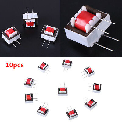 10x Audio Transformer 600 : 600 Europe 1:1 Ei14 Isolation Transformer Ringing AM