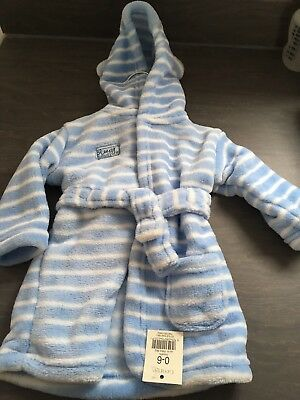 Baby Boys Dressing Gown 0-6