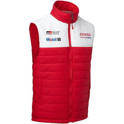 Toyota Gazoo Racing Team Zip Gilet - Le Mans - All Sizes