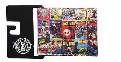 BATMAN comic wallet - Strong, sturdy design PU Leather. Au seller, Fast Postage
