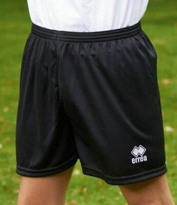 Errea Black new skin panta Football shorts