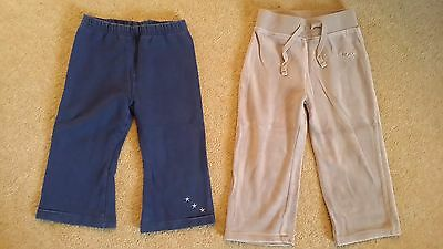 Bundle of girls joggers/tracksuit bottoms 18-24 months, Next and Adams