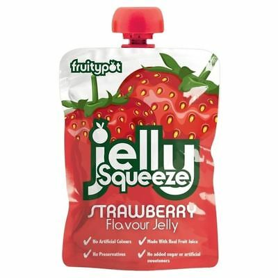 Jelly Squeeze Strawberry 95g