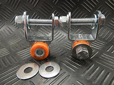 Suzuki Jimny REAR Shock Repositioners Relocators Spacers with Poly Bush for Lift