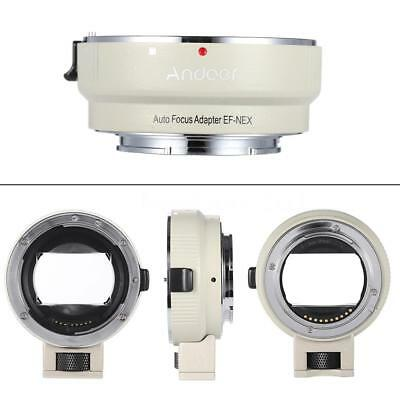 Andoer Auto Focus TTL Lens Adapter Ring Mount for Canon EF EF-S to SONY E NEX A7