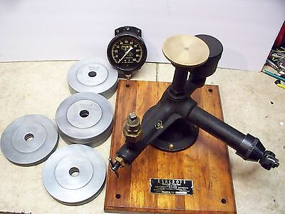 Ashcroft 1300 Dead Weight Tester w/ Weight Set TESTED