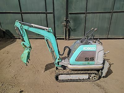 Kobelco SS1 / SS2 Super Micro Mini Digger Japanese Excavator - 130 HOURS  ONLY