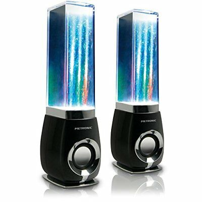 Metronic Water Dancing - Altavoces con cable, multicolor