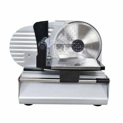 Electric Meat Slicer Steel Blade Bread Cheese Cutter Deli Food Cutter Machine