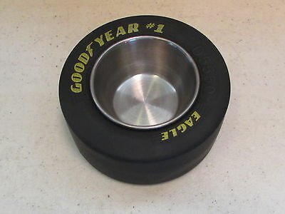 Goodyear Eagle # 1  Racing Slick Tire Metal Ashtray