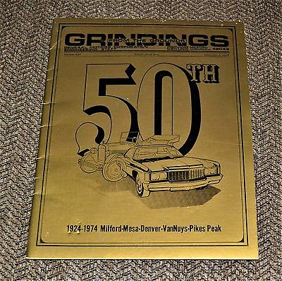 VTG 1974 Grindings From The Grounds #833 GM Proving 50th Anniversary Issue