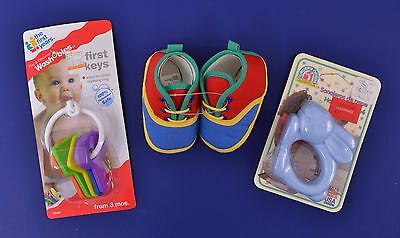 Baby Teething Rings, Shoes & Rattler