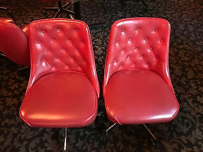 I Have 100+ Red Rolling Restaurant Chairs