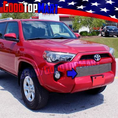 For Toyota 4RUNNER 2014 2015 2016 Polished 1PC Lower Bumper OVERLAY Grille