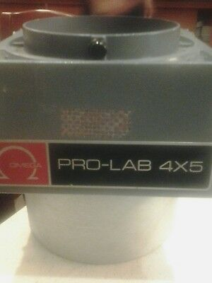 Omega Pro-Lab 4×5 Enlarger Head Condenser Unit