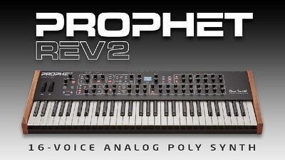 Prophet Rev 2 8 Voice Analogue Poly Synth