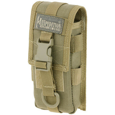 Maxpedition TC-1 Hiking Utility Pouch Travel Micro Organizer MOLLE Webbing Khaki