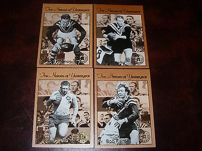 1994 Rugby League Heroes Of Yesterday 4 Cards