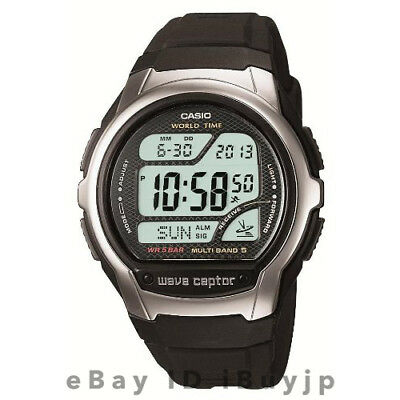 Casio Wave Ceptor WV-58J-1AJF Atomic MULTI BAND5 Digital Mens Watch