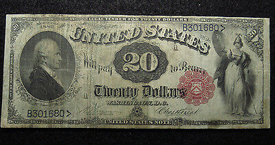 1880 $20 Legal Tender LARGE Note