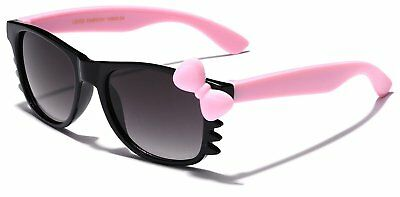 Black Pink Toddler Sunglasses Hello Kitty Baby Girl Fashion Up To 4 Years UV400