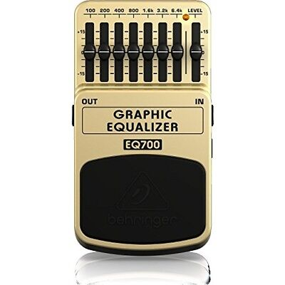 Behringer EQ700 7 Band Graphic Equalizer for Guitar and Keyboard