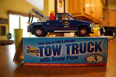 Sunoco 1996 Collector's Edition Tow Truck with Sno Plow 3rd in Series