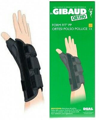 Dr. Gibaud Form Fit® PP - Ortesi polso-pollice sx cod. 0729 a 35,80€