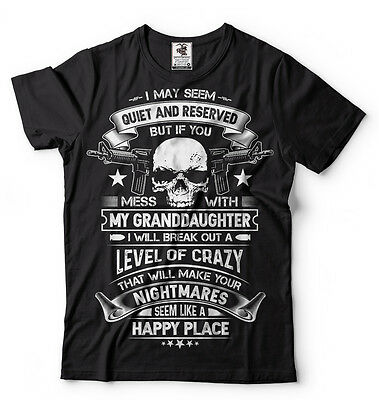 Gift For Grandfather From Granddaughter Cool Grandpa T-shirt Gift for Grandpa