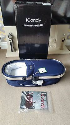 i Candy peach carrycot royal (blue) new in box