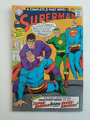 Superman #200 - FN 1967.  Special edition as a 3-part novel