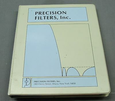 Precision Filters 602 Operating / Service Manual with schematics
