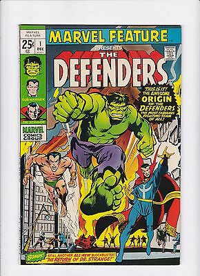 Marvel Feature #1 1st Appearance Origin of The Defenders Original Owner Netflix