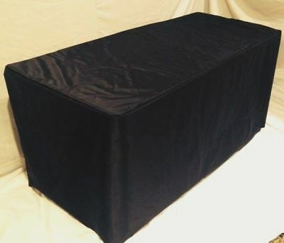 5' ft. Fitted Table Cover WATERPROOF Table Cover Patio Outdoor Indoor Trade show
