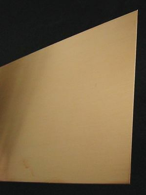 "K & S ENGINEERING 6602 Copper Sheet Metal,.050""x5""x7"" G6401118"