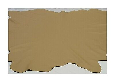 Leather Cowhide Medium Beige Upholstery Automotive Craft Hide TS-1388