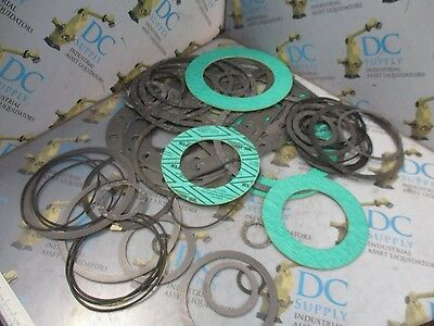 Thermoseal Various Assortment Of Gasket & O-Ring Seals Lot Of 55
