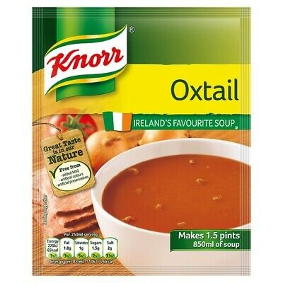 Knorr Oxtail Soup mix 60G - Ireland's Favourite Soup