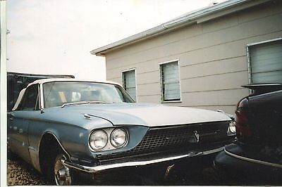 1966 Ford Thunderbird convertible 1966 thunderbird convert./ project car