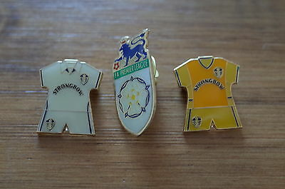 3 Leeds United Football Badges