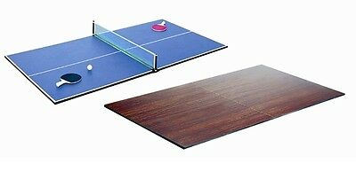 TABLE TENNIS TOP 7x4 POOL SNOOKER TABLE COVER REVERSABLE DESK DINING 13mm THICK