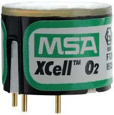 MSA 10106729 Xcell Oxygen,O2 Replacement Sensor, New mfg. 2018