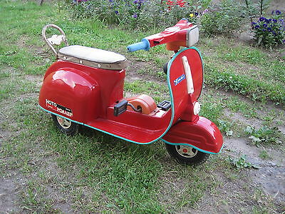 Scooter pedal the USSR car original  , Russian Vespa Soviet toy