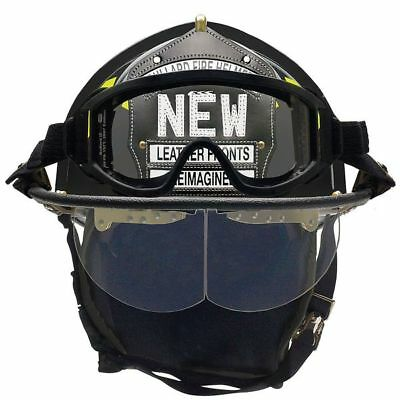 Fire Helmet,Black,Traditional BULLARD UM6BKBRK2