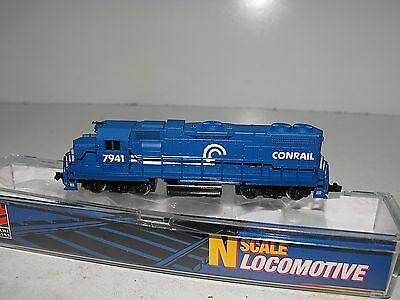 Life-Like N Scale GP38 Locomotive Conrail # 7941 # 7846 In As New Condition